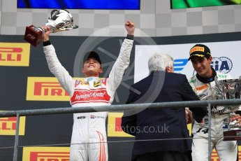 World © Octane Photographic Ltd. FIA Formula 2 (F2) - Race 2. Nyck de Vries – Racing Engineering. Belgian Grand Prix, Spa Francorchamps, Belgium. Sunday August 27th 2017. Digital Ref:1926LB1D7980