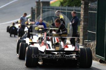 World © Octane Photographic Ltd. GP3 - Practice session. Nirei Fukuzumi - ART Grand Prix. Belgian Grand Pix - Spa Francorchamps, Belgium. Friday 25th August 2017. Digital Ref: 1920LB1D4635