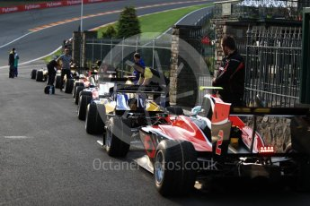 World © Octane Photographic Ltd. GP3 - Practice session. Nirei Fukuzumi - ART Grand Prix. Belgian Grand Pix - Spa Francorchamps, Belgium. Friday 25th August 2017. Digital Ref: 1920LB1D4686