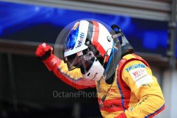 World © Octane Photographic Ltd. GP3 - Race 2. Guiliano Alsei – Trident. Belgian Grand Pix - Spa Francorchamps, Belgium. Sunday 27th August 2017. Digital Ref: 1930LB1D7620