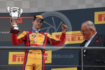 World © Octane Photographic Ltd. GP3 - Race 2. Ryan Tveter – Trident. Belgian Grand Pix - Spa Francorchamps, Belgium. Sunday 27th August 2017. Digital Ref: 1930LB1D7745