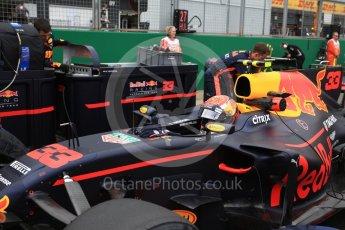 World © Octane Photographic Ltd. Formula 1 - British Grand Prix - Sunday - Grid. Max Verstappen - Red Bull Racing RB13. Silverstone, UK. Sunday 16th July 2017. Digital Ref: 1891LB2D9843