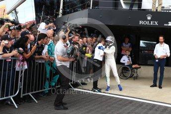 World © Octane Photographic Ltd. Formula 1 - British Grand Prix - Sunday - Race Podium. Valtteri Bottas - Mercedes AMG Petronas F1 W08 EQ Energy+. Silverstone, UK. Sunday 16th July 2017. Digital Ref: 1893LB2D0246