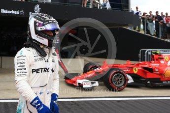 World © Octane Photographic Ltd. Formula 1 - British Grand Prix - Sunday - Race Podium. Valtteri Bottas - Mercedes AMG Petronas F1 W08 EQ Energy+. Silverstone, UK. Sunday 16th July 2017. Digital Ref: 1893LB2D0254