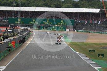 World © Octane Photographic Ltd. Formula 1 - British Grand Prix - Sunday - Race. Lewis Hamilton - Mercedes AMG Petronas F1 W08 EQ Energy+. Silverstone, UK. Sunday 16th July 2017. Digital Ref: 1892LB1D4065