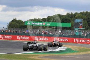 World © Octane Photographic Ltd. Formula 1 - British Grand Prix - Sunday - Race. Fernando Alonso - McLaren Honda MCL32. Silverstone, UK. Sunday 16th July 2017. Digital Ref: 1892LB1D4202