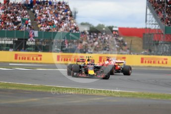 World © Octane Photographic Ltd. Formula 1 - British Grand Prix - Sunday - Race. Max Verstappen - Red Bull Racing RB13. Silverstone, UK. Sunday 16th July 2017. Digital Ref: 1892LB1D4237