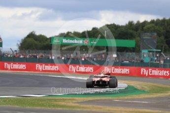World © Octane Photographic Ltd. Formula 1 - British Grand Prix - Sunday - Race. Sebastian Vettel - Scuderia Ferrari SF70H. Silverstone, UK. Sunday 16th July 2017. Digital Ref: 1892LB1D4241