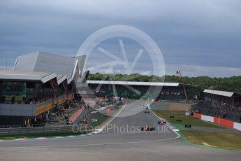 World © Octane Photographic Ltd. Formula 1 - British Grand Prix - Sunday - Race. Max Verstappen - Red Bull Racing RB13. Silverstone, UK. Sunday 16th July 2017. Digital Ref: 1892LB2D0034