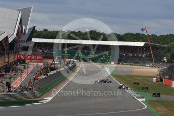 World © Octane Photographic Ltd. Formula 1 - British Grand Prix - Sunday - Race. Pascal Wehrlein – Sauber F1 Team C36. Silverstone, UK. Sunday 16th July 2017. Digital Ref: 1892LB2D0096