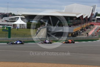 World © Octane Photographic Ltd. Formula 1 - British Grand Prix - Sunday - Race. Daniil Kvyat - Scuderia Toro Rosso STR12. Silverstone, UK. Sunday 16th July 2017. Digital Ref: 1892LB2D0111