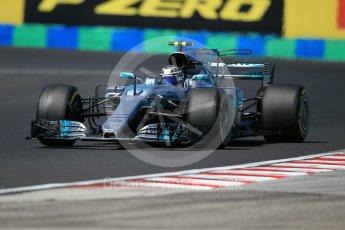 World © Octane Photographic Ltd. Formula 1 - Hungarian Grand Prix Practice 3. Valtteri Bottas - Mercedes AMG Petronas F1 W08 EQ Energy+. Hungaroring, Budapest, Hungary. Saturday 29th July 2017. Digital Ref:
