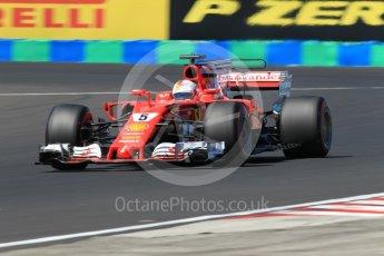 World © Octane Photographic Ltd. Formula 1 - Hungarian Grand Prix Practice 3. Sebastian Vettel - Scuderia Ferrari SF70H. Hungaroring, Budapest, Hungary. Saturday 29th July 2017. Digital Ref: