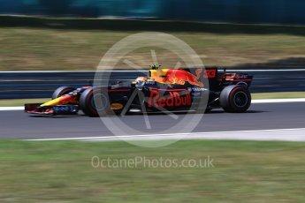 World © Octane Photographic Ltd. Formula 1 - Hungarian Grand Prix Practice 3. Max Verstappen - Red Bull Racing RB13. Hungaroring, Budapest, Hungary. Saturday 29th July 2017. Digital Ref: