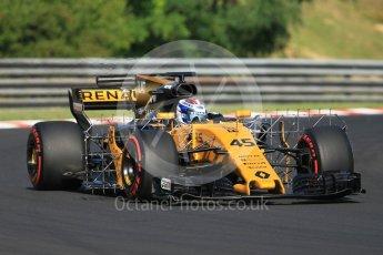 World © Octane Photographic Ltd. Formula 1 - Hungarian in-season testing. Nicholas Latifi - Renault Sport F1 Team R.S.17. Hungaroring, Budapest, Hungary. Tuesday 1st August 2017. Digital Ref:1916CB1L2505
