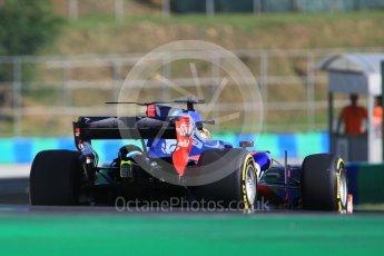 World © Octane Photographic Ltd. Formula 1 - Hungarian in-season testing. Sean Gelael - Scuderia Toro Rosso STR12. Hungaroring, Budapest, Hungary. Tuesday 1st August 2017. Digital Ref:1916CB1L2597
