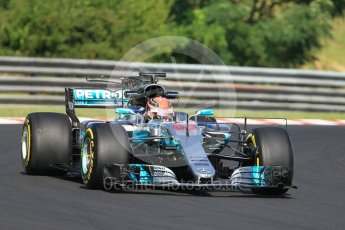 World © Octane Photographic Ltd. Formula 1 - Hungarian in-season testing. George Russell - Mercedes AMG Petronas F1 W08 EQ Energy+. Hungaroring, Budapest, Hungary. Tuesday 1st August 2017. Digital Ref:1916CB1L2603