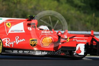 World © Octane Photographic Ltd. Formula 1 - Hungarian in-season testing. Charles LeClerc - Scuderia Ferrari SF70H. Hungaroring, Budapest, Hungary. Tuesday 1st August 2017. Digital Ref:1916CB1L2658