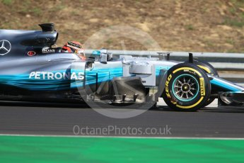 World © Octane Photographic Ltd. Formula 1 - Hungarian in-season testing. George Russell - Mercedes AMG Petronas F1 W08 EQ Energy+. Hungaroring, Budapest, Hungary. Tuesday 1st August 2017. Digital Ref:1916CB1L2759