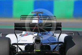 World © Octane Photographic Ltd. Formula 1 - Hungarian in-season testing. Lance Stroll - Williams Martini Racing FW40. Hungaroring, Budapest, Hungary. Tuesday 1st August 2017. Digital Ref:1916CB1L2820