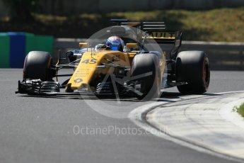 World © Octane Photographic Ltd. Formula 1 - Hungarian in-season testing. Nicholas Latifi - Renault Sport F1 Team R.S.17. Hungaroring, Budapest, Hungary. Tuesday 1st August 2017. Digital Ref:1916CB1L3014