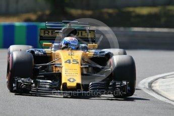 World © Octane Photographic Ltd. Formula 1 - Hungarian in-season testing. Nicholas Latifi - Renault Sport F1 Team R.S.17. Hungaroring, Budapest, Hungary. Tuesday 1st August 2017. Digital Ref:1916CB1L3018