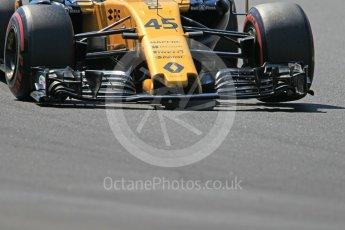 World © Octane Photographic Ltd. Formula 1 - Hungarian in-season testing. Nicholas Latifi - Renault Sport F1 Team R.S.17. Hungaroring, Budapest, Hungary. Tuesday 1st August 2017. Digital Ref:1916CB1L3053