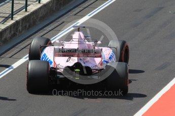World © Octane Photographic Ltd. Formula 1 - Hungarian in-season testing. Lucas Auer - Sahara Force India VJM10. Hungaroring, Budapest, Hungary. Tuesday 1st August 2017. Digital Ref: