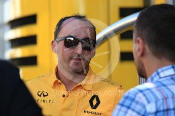 World © Octane Photographic Ltd. Formula 1 - Hungarian in-season testing. Robert Kubica - Renault Sport F1 Team R.S.17. Hungaroring, Budapest, Hungary. Tuesday 1st August 2017. Digital Ref:1916CB2D4499