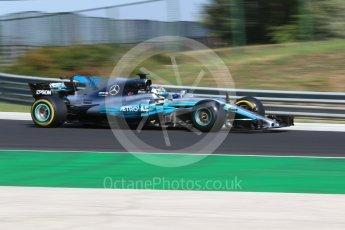 World © Octane Photographic Ltd. Formula 1 - Hungarian Pirelli tyre test. Valtteri Bottas - Mercedes AMG Petronas F1 W08 EQ Energy+. Hungaroring, Budapest, Hungary. Tuesday 1st August 2017. Digital Ref:1916CB2D4583