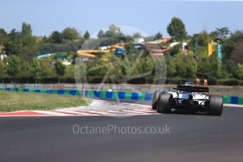 World © Octane Photographic Ltd. Formula 1 - Hungarian in-season testing. Lance Stroll - Williams Martini Racing FW40. Hungaroring, Budapest, Hungary. Tuesday 1st August 2017. Digital Ref:1916CB2D4608