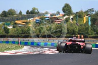 World © Octane Photographic Ltd. Formula 1 - Hungarian in-season testing. Charles LeClerc - Scuderia Ferrari SF70H. Hungaroring, Budapest, Hungary. Tuesday 1st August 2017. Digital Ref:1916CB2D4616