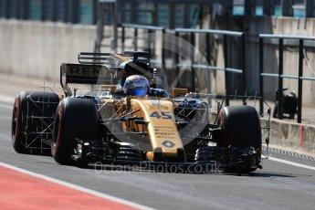 World © Octane Photographic Ltd. Formula 1 - Hungarian in-season testing. Nicholas Latifi - Renault Sport F1 Team R.S.17. Hungaroring, Budapest, Hungary. Tuesday 1st August 2017. Digital Ref:1916LB1D2334