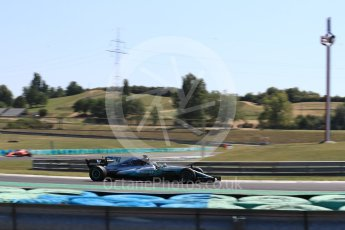 World © Octane Photographic Ltd. Formula 1 - Hungarian Pirelli tyre test. Valtteri Bottas - Mercedes AMG Petronas F1 W08 EQ Energy+. Hungaroring, Budapest, Hungary. Tuesday 1st August 2017. Digital Ref:1916LB1D2584