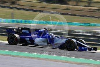 World © Octane Photographic Ltd. Formula 1 - Hungarian in-season testing. Gustav Malja – Sauber F1 Team C36. Hungaroring, Budapest, Hungary. Tuesday 1st August 2017. Digital Ref:1916LB1D2656