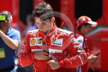 World © Octane Photographic Ltd. Formula 1 - Hungarian in-season testing. Charles LeClerc - Scuderia Ferrari SF70H. Hungaroring, Budapest, Hungary. Tuesday 1st August 2017. Digital Ref: 1916LB1D2702