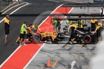 World © Octane Photographic Ltd. Formula 1 - Hungarian in-season testing. Robert Kubica - Renault Sport F1 Team R.S.17. Hungaroring, Budapest, Hungary. Wednesday 2nd August 2017. Digital Ref:1917CB1L3586