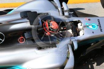 World © Octane Photographic Ltd. Formula 1 - Hungarian in-season testing. George Russell - Mercedes AMG Petronas F1 W08 EQ Energy+. Hungaroring, Budapest, Hungary. Wednesday 2nd August 2017. Digital Ref:1917CB2D5342