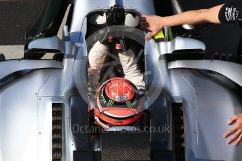 World © Octane Photographic Ltd. Formula 1 - Hungarian in-season testing. George Russell - Mercedes AMG Petronas F1 W08 EQ Energy+. Hungaroring, Budapest, Hungary. Wednesday 2nd August 2017. Digital Ref:1917CB2D5365