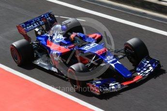 World © Octane Photographic Ltd. Formula 1 - Hungarian in-season testing. Carlos Sainz - Scuderia Toro Rosso STR12. Hungaroring, Budapest, Hungary. Wednesday 2nd August 2017. Digital Ref:1917CB2D5433