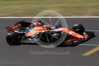 World © Octane Photographic Ltd. Formula 1 - Hungarian in-season testing. Lando Norris - McLaren Honda MCL32. Hungaroring, Budapest, Hungary. Wednesday 2nd August 2017. Digital Ref:1917CB2D5454