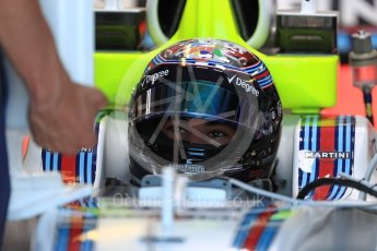 World © Octane Photographic Ltd. Formula 1 - Canadian Grand Prix - Saturday - Practice 3. Lance Stroll - Williams Martini Racing FW40. Circuit Gilles Villeneuve, Montreal, Canada. Saturday 10th June 2017. Digital Ref: 1853LB1D5436