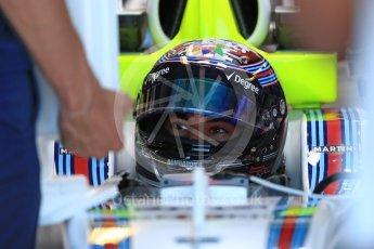 World © Octane Photographic Ltd. Formula 1 - Canadian Grand Prix - Saturday - Practice 3. Lance Stroll - Williams Martini Racing FW40. Circuit Gilles Villeneuve, Montreal, Canada. Saturday 10th June 2017. Digital Ref: 1853LB1D5441