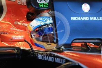 World © Octane Photographic Ltd. Formula 1 - Canadian Grand Prix - Saturday - Practice 3. Fernando Alonso - McLaren Honda MCL32. Circuit Gilles Villeneuve, Montreal, Canada. Saturday 10th June 2017. Digital Ref: 1853LB1D5486