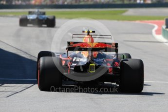 World © Octane Photographic Ltd. Formula 1 - Canadian Grand Prix - Saturday - Practice 3. Max Verstappen - Red Bull Racing RB13. Circuit Gilles Villeneuve, Montreal, Canada. Saturday 10th June 2017. Digital Ref: 1853LB1D5555