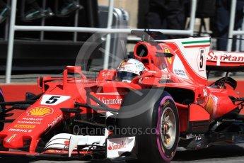 World © Octane Photographic Ltd. Formula 1 - Canadian Grand Prix - Saturday - Practice 3. Sebastian Vettel - Scuderia Ferrari SF70H. Circuit Gilles Villeneuve, Montreal, Canada. Saturday 10th June 2017. Digital Ref: 1853LB1D5590