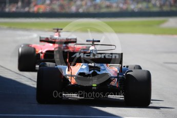World © Octane Photographic Ltd. Formula 1 - Canadian Grand Prix - Saturday - Practice 3. Fernando Alonso - McLaren Honda MCL32. Circuit Gilles Villeneuve, Montreal, Canada. Saturday 10th June 2017. Digital Ref: 1853LB1D5604