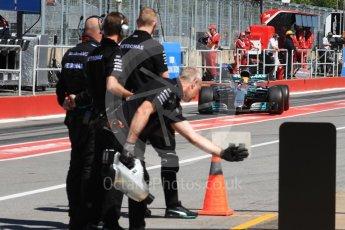 World © Octane Photographic Ltd. Formula 1 - Canadian Grand Prix - Saturday - Practice 3. Lewis Hamilton - Mercedes AMG Petronas F1 W08 EQ Energy+. Circuit Gilles Villeneuve, Montreal, Canada. Saturday 10th June 2017. Digital Ref: 1853LB1D5705