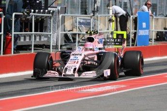 World © Octane Photographic Ltd. Formula 1 - Canadian Grand Prix - Saturday - Practice 3. Esteban Ocon - Sahara Force India VJM10. Circuit Gilles Villeneuve, Montreal, Canada. Saturday 10th June 2017. Digital Ref: 1853LB1D5858