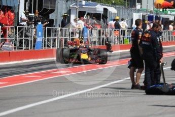 World © Octane Photographic Ltd. Formula 1 - Canadian Grand Prix - Saturday - Practice 3. Max Verstappen - Red Bull Racing RB13. Circuit Gilles Villeneuve, Montreal, Canada. Saturday 10th June 2017. Digital Ref: 1853LB1D5887